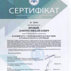 Курс по ультразвуковой диагностике в травматологии и ортопедии. Киев, 25-26 января 2020г.